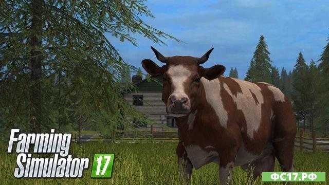 Геймплей по животноводству в Farming Simulator 2017