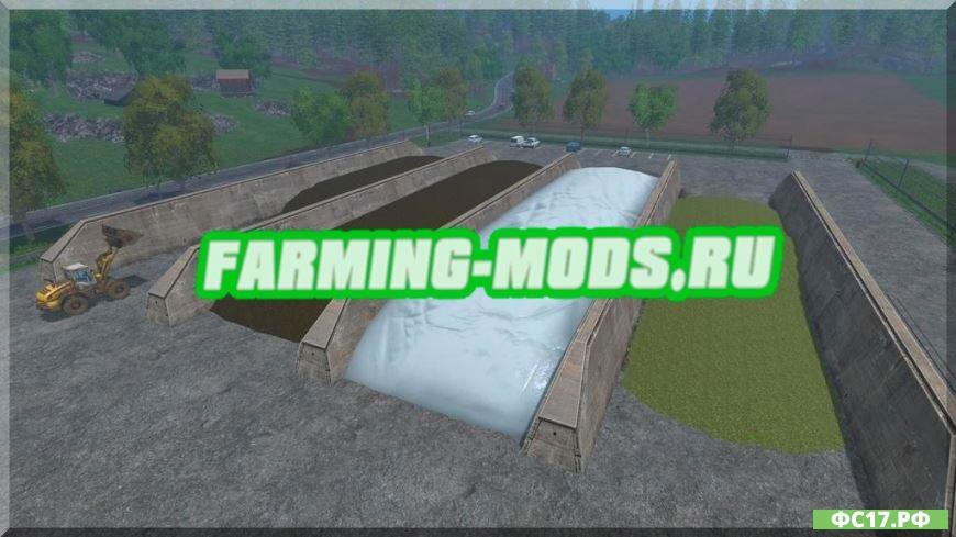 Как делать силос в Farming Simulator 17