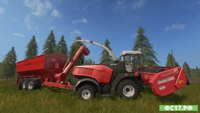 Мод FS17 Bergmann GTW 430 v 1.0 для Фермер Симулятор 2017